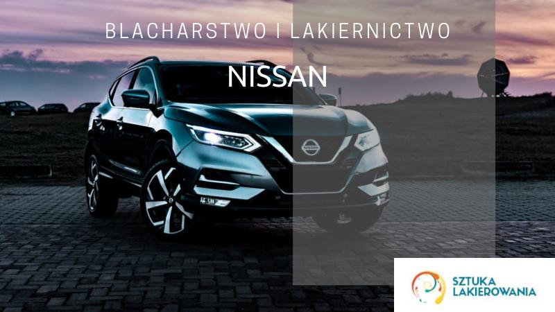 Naprawy blacharsko-lakiernicze Nissan - lakiernik, blacharz do Nissana w Sztuka Lakierowania, Warszawa, Białystok, Ełk