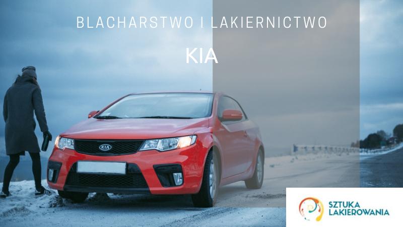 Naprawy blacharsko-lakiernicze KIA - lakiernik, blacharz do KIA w Sztuka Lakierowania, Warszawa, Białystok, Ełk