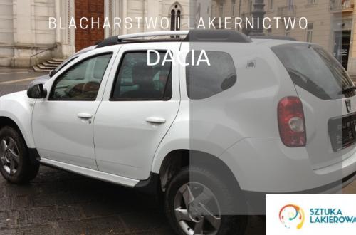 Blacharstwo lakiernictwo Dacia - lakiernik, blacharz do Dacii w Sztuka Lakierowania, Warszawa, Białystok, Ełk