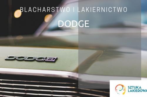 Blacharstwo lakiernictwo Dodge - lakiernik, blacharz do Dodge w Sztuka Lakierowania, Warszawa, Białystok, Ełk