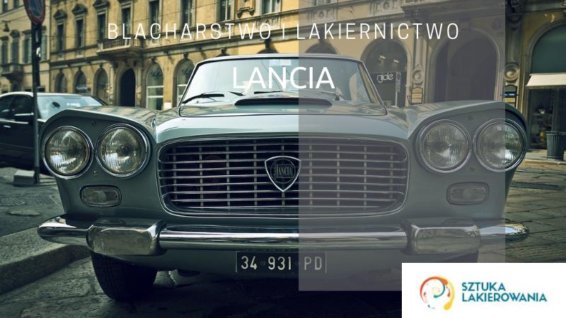 Blacharstwo lakiernictwo Lancia - lakiernik, blacharz do Lancii w Sztuka Lakierowania, Warszawa, Białystok, Ełk
