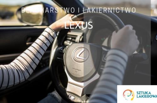 Blacharstwo lakiernictwo Lexus - lakiernik, blacharz do Lexusa w Sztuka Lakierowania, Warszawa, Białystok, Ełk