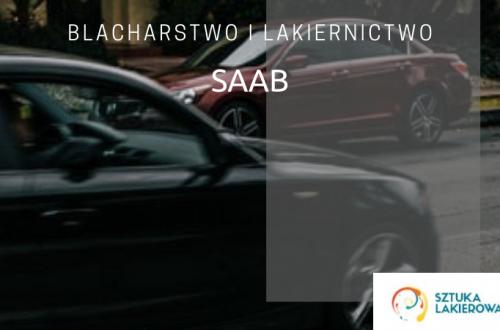 Blacharstwo lakiernictwo Saab - lakiernik, blacharz do Saaba w Sztuka Lakierowania, Warszawa, Białystok, Ełk