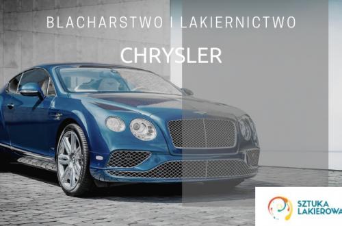 Naprawy powypadkowe Chrysler - lakiernik, blacharz do Chryslera w Sztuka Lakierowania, Warszawa, Białystok, Ełk