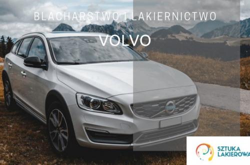 Naprawy powypadkowe Volvo - lakiernik, blacharz do Volvo w Sztuka Lakierowania, Warszawa, Białystok, Ełk