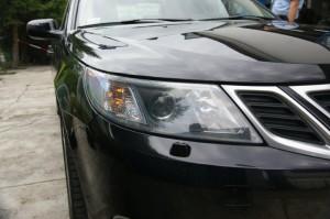 Malowanie auta Saab