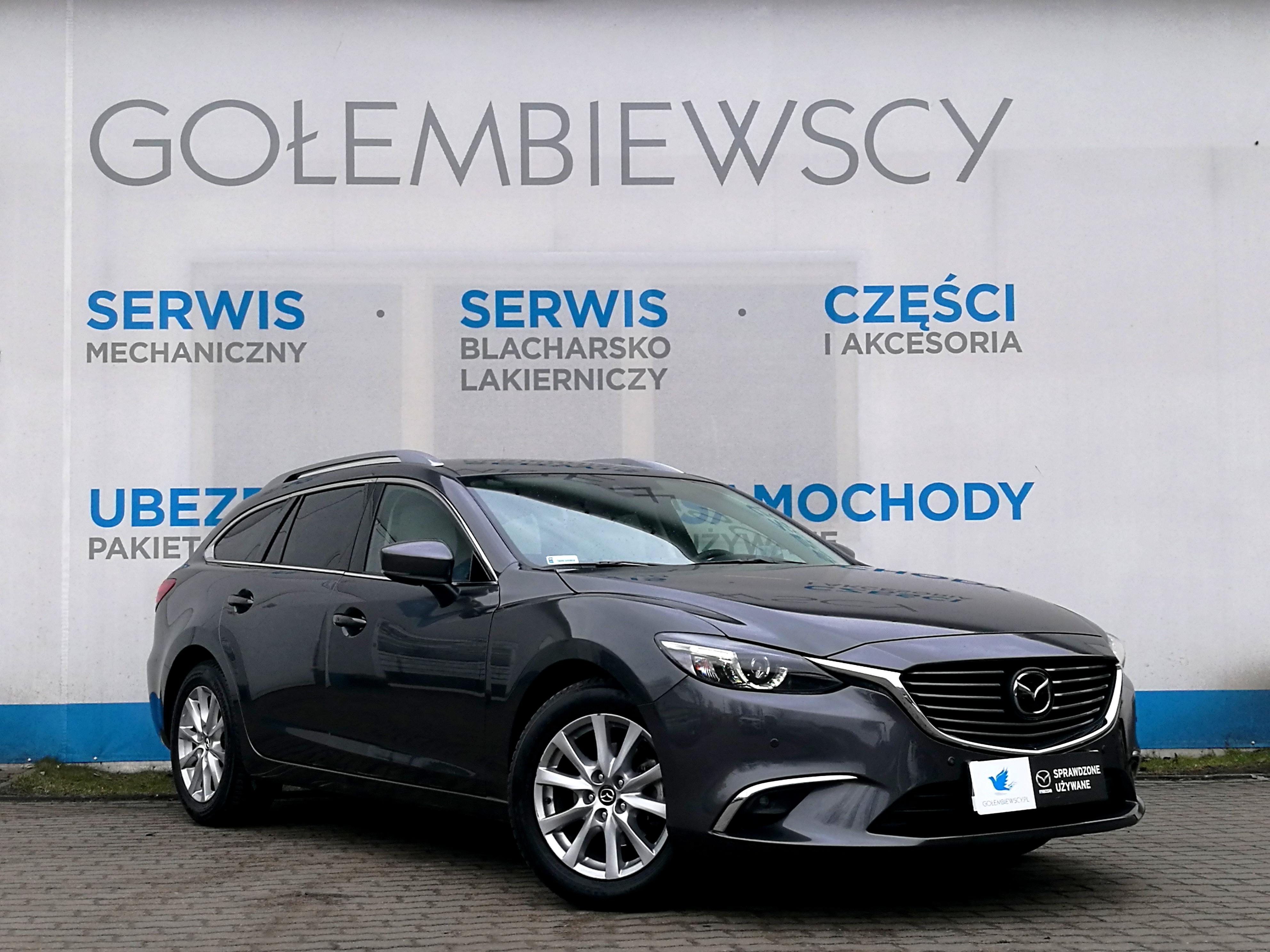 Mazda 6 kombi - salon Mazda Warszawa Gołembiewscy