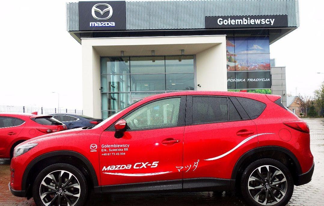 Mazda MX-5 biała skóra - Mazda promocje na samochody Gołembiewscy