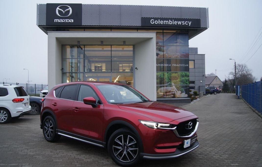 Mazda CX-5 - Mazda promocje na samochody Gołembiewscy