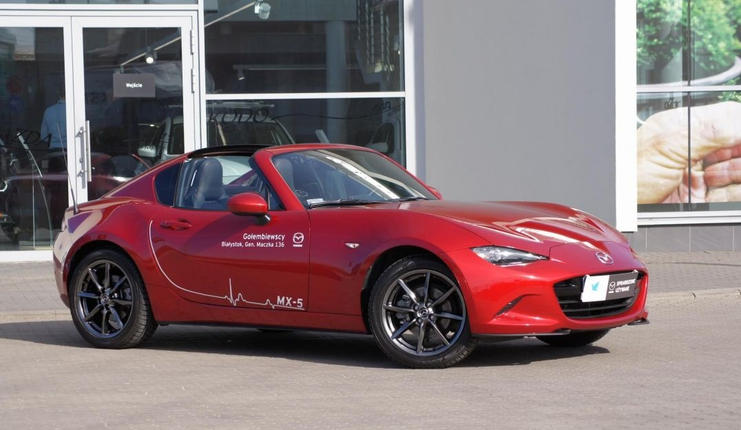Mazda MX-5 - Mazda promocje na samochody Gołembiewscy