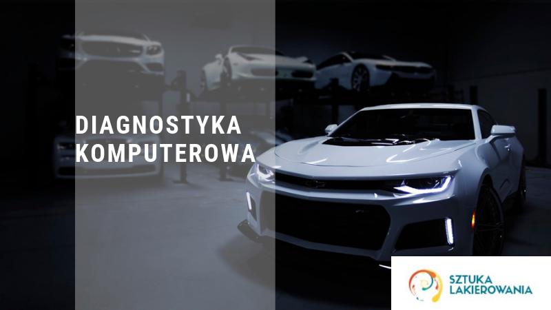 Diagnostyka komputerowa - Warszawa, Białystok, Ełk. Badanie samochodu, podpięcie pod komputer w Sztuka Lakierowania.pl
