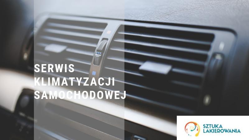 Serwis klimatyzacji samochodowej - Warszawa, Białystok, Ełk - Sztuka Lakierowania