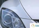 Usługi blacharsko-lakiernicze - maska auta po naprawie lakierniczej, idealnie dobrany kolor lakieru.